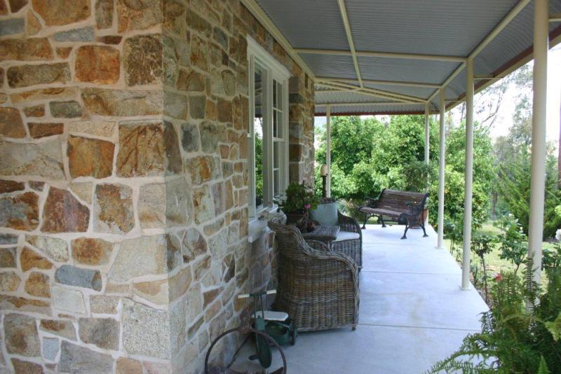 Rock Lodge verandah