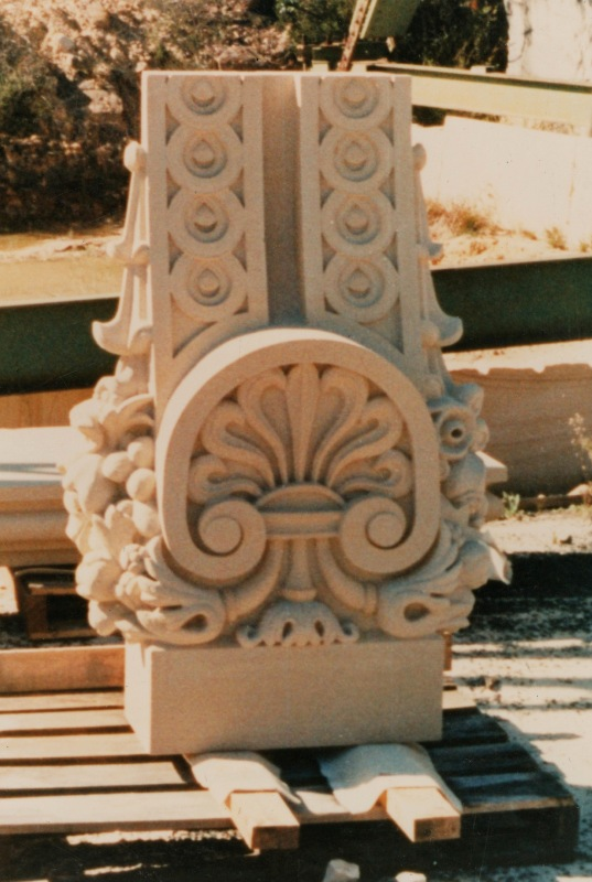 Sydney GPO carving