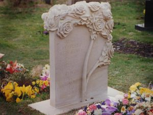 Stone memorials for memories of loved ones