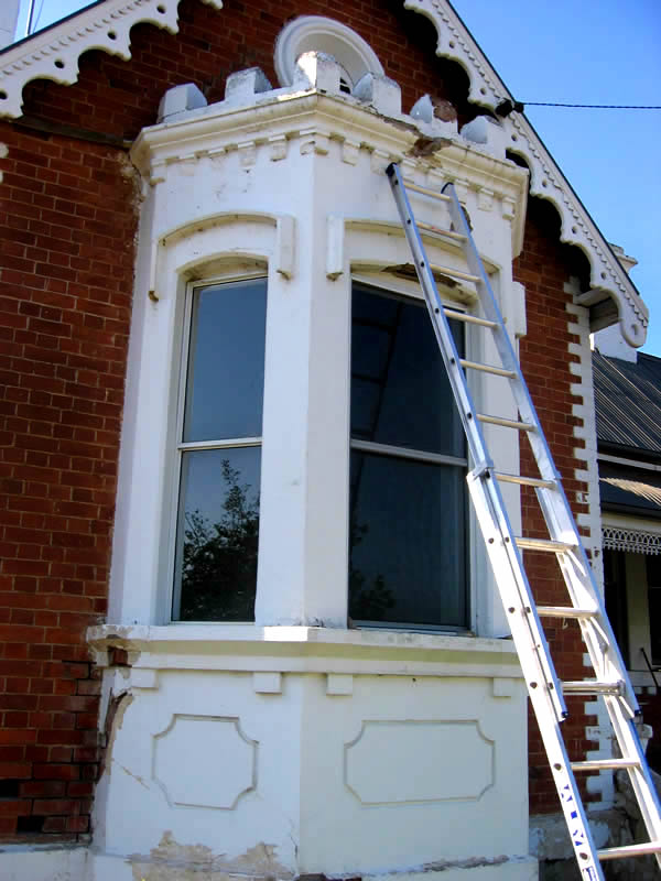 Repairs to stone and brick