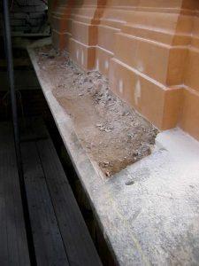 Detail repairs
