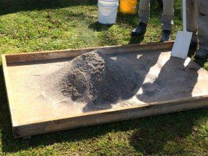 sand slaking